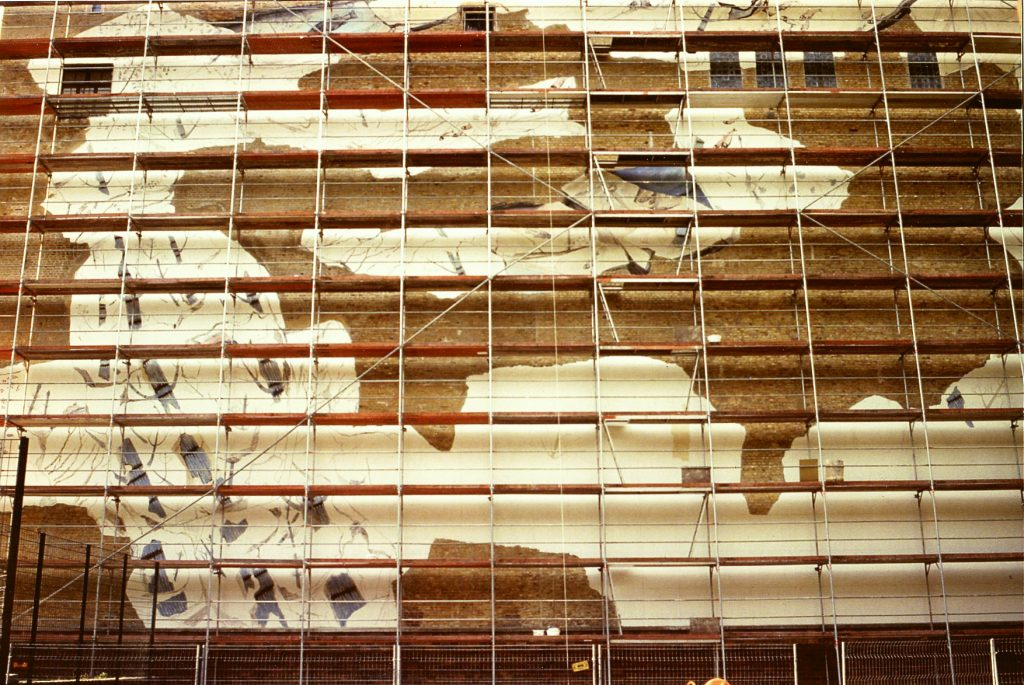 Wandgestaltung Kunst im öffentlichen Raum 4