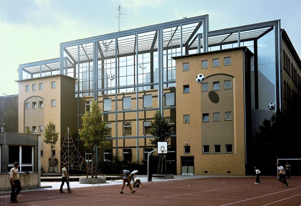 Fassadengestaltung in Kreuzberg