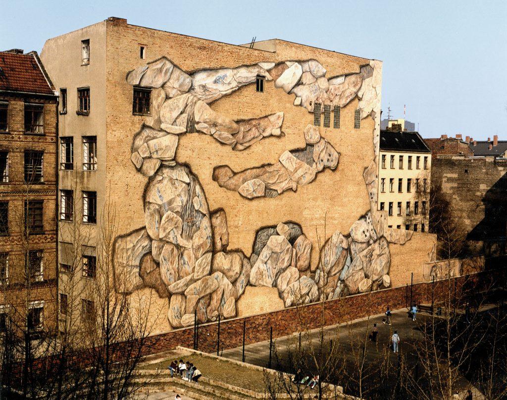 Wandgestaltung Kunst im öffentlichen Raum 2