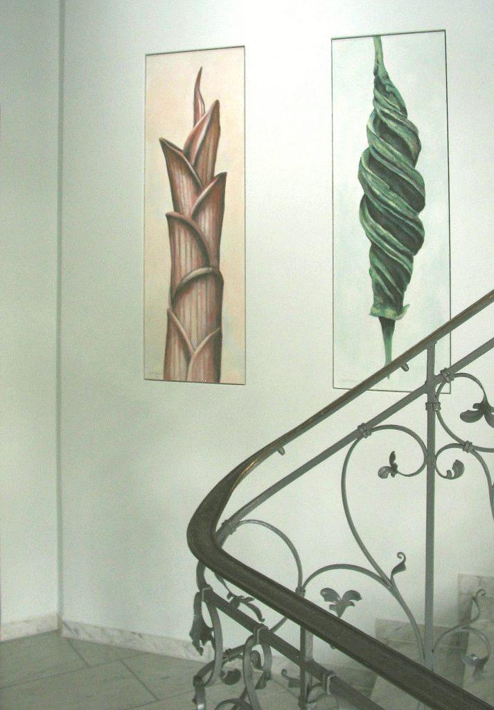 Tafelbilder im Treppenhaus 3