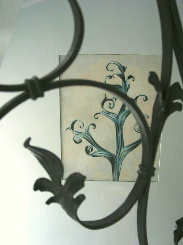 Tafelbilder im Treppenhaus 2