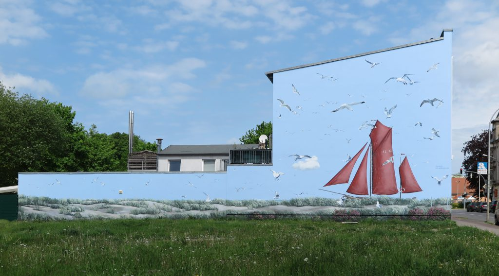 Giebelmalerei Stralsund 1
